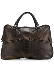 Numero 10 Slouchy Briefcase Brown
