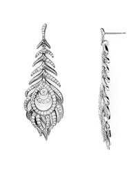 Kendra Scott Elettra Drop Earrings Antique Silver