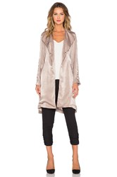 Capulet Lightweight Soft Trench Mauve