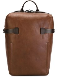 Troubadour Compact Rucksack Brown