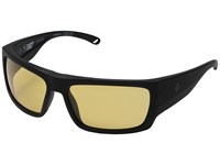 Spy Optic Rover Matte Black Ansi Rx Happy Yellow Fashion Sunglasses