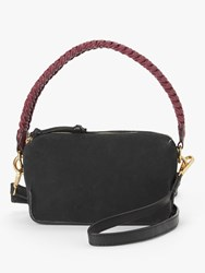 And Or Puebla Leather Cross Body Bag Black