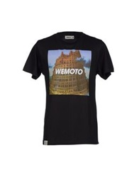 Wemoto T Shirts Black