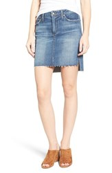 Joe's Jeans Women's Collector's High Low Denim Pencil Skirt