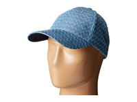 Vince Camuto Denim Baseball Denim Caps Blue