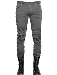 Diesel Black Gold 17Cm 3D Extra Long Stretch Denim Jeans