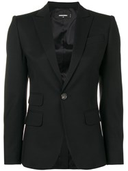 Dsquared2 Classic Fitted Blazer Black