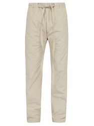 Fear Of God Baggy Tie Waist Straight Fit Trousers Grey