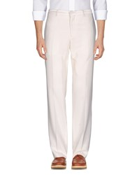 Versace Collection Casual Pants White