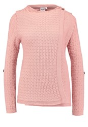 Object Objdeanna Mynthe Cardigan Misty Rose