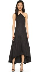 Jill Stuart Full Skirt Gown Black