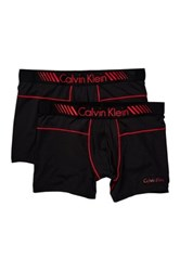 Calvin Klein Micro Trunks Pack Of 2 Pink