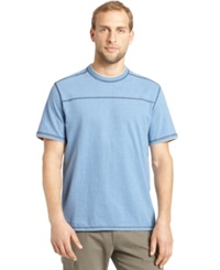 G.H. Bass And Co. Pieced Heathered T Shirt