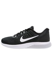 Nike Performance Lunarglide 8 Cushioned Running Shoes Black White Anthracite
