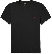 Polo Ralph Lauren Cotton T Shirt Black