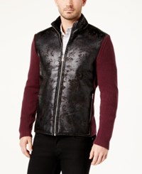 Inc International Concepts Men's Swacket With Faux Fur Lining Created For Macy's Vintage Wi