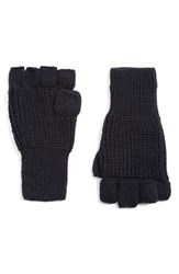 Men's Topman 'Jack' Knit Fingerless Gloves