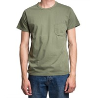 Universal Works Olive Green Pocket T Shirt