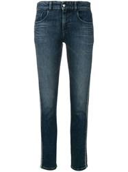 Emporio Armani Skinny Fitted Jeans Blue