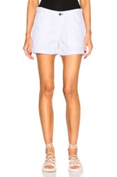Rag And Bone Jean Carpenter Shorts In White