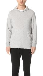 Apl Athletic Propulsion Labs French Terry Hoodie Grey