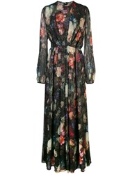 Adam By Adam Lippes Floral Print Long Dress 60