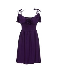 Bea Yuk Mui Bea Dresses Short Dresses Women Purple