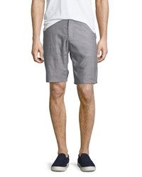 Civil Society Tailored Mixed Yarn Shorts Gray