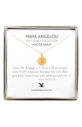 Dogeared Women's 'Legacy Collection Love Life' Pendant Necklace