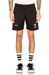 Off White X Umbro Shorts In Black