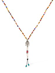 Cantini Mc Firenze Buddha Cromo Necklace Multicolor