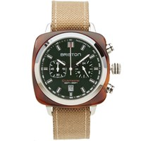 Briston Clubmaster Sport Chronograph Watch Green