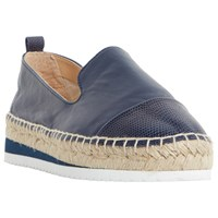 Dune Guest Espadrille Loafers Navy