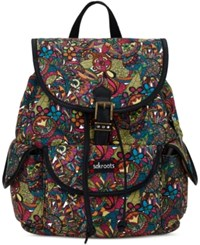 Sakroots Artist Circle Small Flap Backpack