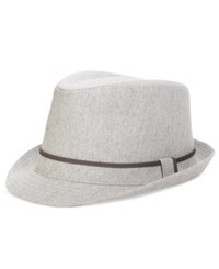 Levi's Men's Heathered Banded Fedora Gray