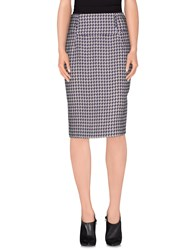 Trussardi Skirts 3 4 Length Skirts Women Purple