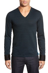 Men's Maceoo Long Sleeve V Neck Shirt