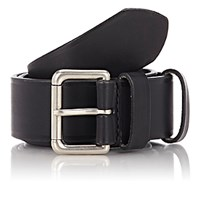 Felisi Men's Numbered Leather Belt Black Blue Black Blue
