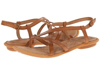 Born Mai Cuoio Brown Full Grain Leather Women's Sandals