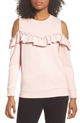 Kate Spade New York Cold Shoulder Sweatshirt Blusher