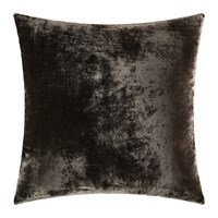 William Yeoward Paddy Velvet Cushion 50X50cm Espresso