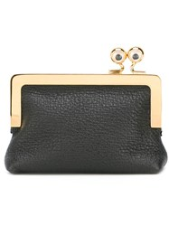 Sophie Hulme Gold Tone Hardware Purse Black