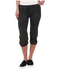 Alternative Apparel Eco Heather Crop Pant Eco Black Women's Casual Pants