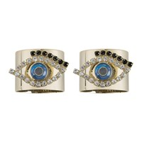 Joanna Buchanan Evil Eye Napkin Ring Set Of 2