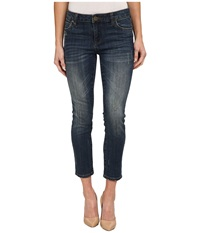 Kut From The Kloth Reese Ankle Straight Leg Jeans In Conviction Conviction Women's Jeans Blue