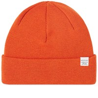 Norse Projects Top Beanie Orange