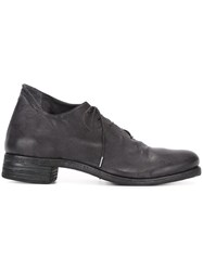 A Diciannoveventitre 'A1' Derby Shoes Black