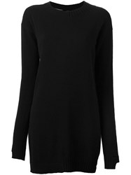 Andrea Ya'aqov Crew Neck Jumper Black