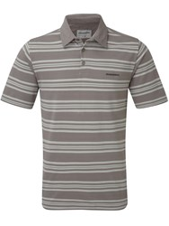 Craghoppers Creston Short Sleeved Polo Mid Grey