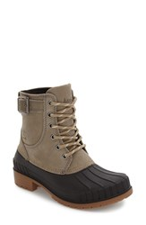 Kamik Women's Evelyn Waterproof Boot Taupe Leather